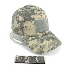 a1245abd Xongkoro Men Camouflage Tactical Cap With 1pcs Custom Patch Male Baseball Caps  US Navy Badge Name