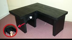 How to make a Doll Computer Desk