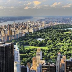 Central Park - The huge and gorgeous urban park with woods and lakes right in the centre of #NewYork city