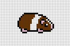 Guinea Pig Pixel Art