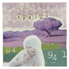 """""""Spring"""" by raamen365 ❤ liked on Polyvore featuring art"""