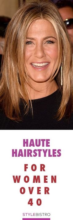 Haute Hairstyles for Women Over 40