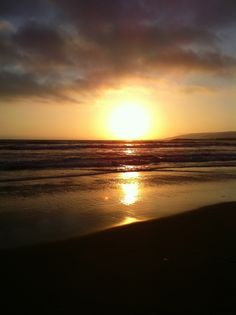 Sunset in Ensenada, Mexico. Looks like the beach in front of our vacation home. I miss it!!!!