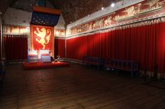 Throne Room of the Great Keep at Dover Castle, England.  Photo by Sean White.
