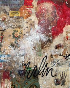 "Saatchi Online Artist: Oliver Peterson; other Collage ""Merlin"""