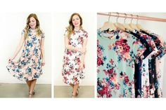 You have big plans for your Saturday— ordering some iced coffee and some consignment shopping to make your Pinterest board come true! Make sure to wear this lightweight short sleeve floral swing dress because it looks fabulous for any occasion, but oh-so comfortable for lounging and wearing all day long.