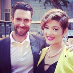 Tessanne Chin & Adam!