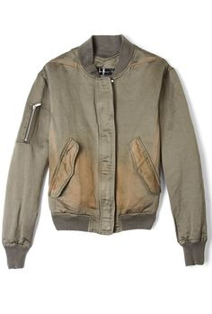 Flione Jilla Bomber Jacket by Theyskens Theory by Theyskens Theory | Apprl - Social Shopping