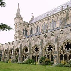 Salisbury, England - Salisbury Cathedral