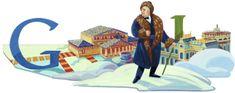 Doodleando, Los Logos de Google: 140 Aniversario del nacimiento de Fiódor Ivánovich Chaliapin