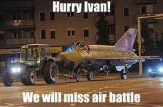 Hurry Ivan!