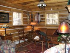 Living room of our cabin Horse Farms, Kentucky, Cabin, Living Room, Furniture, Home Decor, Decoration Home, Room Decor, Cabins