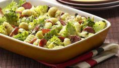 Kartoffelgnocchi in Kombination mit Romanesco und Cabanossi. Ein Gericht das begeistert! Das Rezept dazu gibt es bei maggi.de.