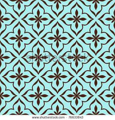 Ornamental pattern. Seamless Moroccan background. - stock vector