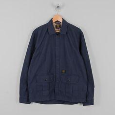 901fe3066a2 Carhartt Anson Shirt Jac - Blue Stone Washed