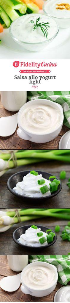 Salsa allo yogurt light