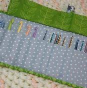 Trifold Crochet Case, $4.00 - via @Craftsy (pattern)
