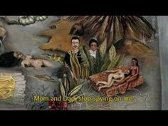 """Frida Kahlo, à travers le masque - épisode 15/26 """"Ce que l'eau m'a donné"""" Dans son bain, Frida Kahlo laisse ses pensées flotter au fil de l'eau."""