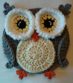 Crochet Woodsy Owl Potholder Pattern Only