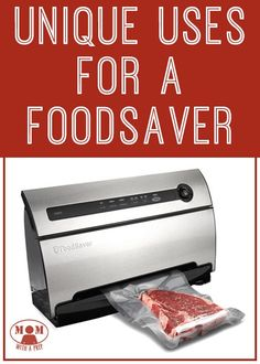 Unique uses for vacuum sealer | Food Saver uses | how to use a food saver | how to use a vacuum sealer