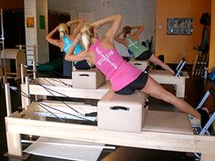 Pilates short box tomorrow morning for serious oblique workout!!! :)