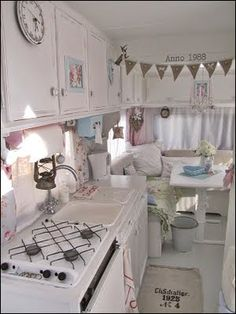 I found this sweet motor home makeover and I had to share with you!! Go here to her adorable blog! You must check out the before pictures!!...