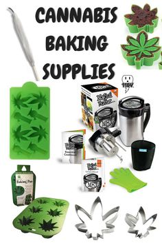 Baking Supplies for Cannabis Edibles Weed Recipes, Marijuana Recipes, Cannabis Edibles, Marijuana Plants, Baking Supplies, Baking Tools, Ganja, Stoner, Rasta Party