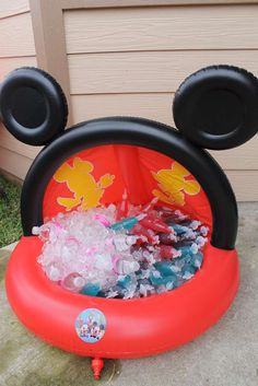 Mickey Mouse Clubhouse or Minnie Mouse Birthday Party Ideas | Photo 14 of 50 | Catch My Party