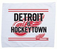 Detroit Red Wings - Extra Man Rally Towel created exclusively for www.shop.nhl.com