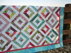 8/21/12 Handmade Quilt Fun Colors