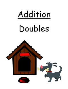 """FREEBIE Center Game Math Addition """"Doubles"""" Concept! Fern Smith's Classroom Ideas! $0"""