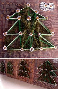 Christmas wool tree | Flickr - Photo Sharing!