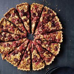 Cranberry-Walnut Tart Recipe | CookingLight.com