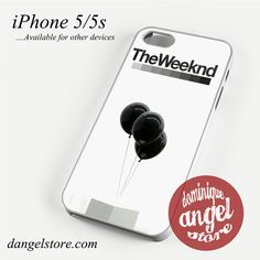 The Weeknd Baloon Phone case for iPhone 4/4s/5/5c/5s/6/6 plus