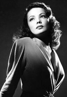 Gene Tierney, actress 1940's
