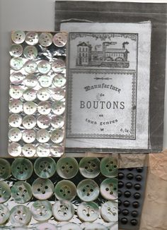 Elizabethbaertextiles.com: Mother of Pearl Buttons and others