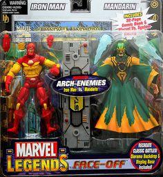 Marvel Legends Face Off Series 2 Modular Iron Man