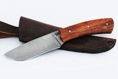 Нож Боровик 1 (булат, бубинга помеле, цельнометаллический)