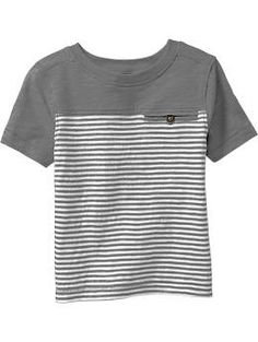 Striped Colorblock Tees for Baby | Old Navy