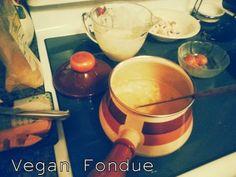 Vegan fondue!!!! These Beer batter cheezy bites are to DIE for. #eggfree #dairyfree #vegan