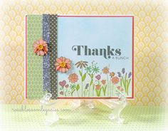 card by Brenda Rose using CTMH Chantilly paper