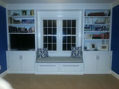Corner Tv Stand With Attached Window Seat Google Search