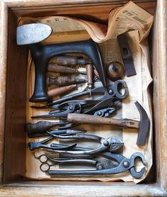 Shoemakers tools