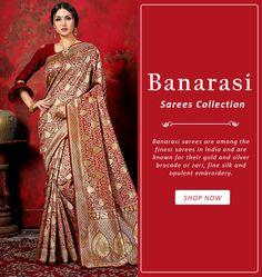 Grab the best collection of Banarasi sarees from Mirraw. Art Silk Sarees, Banarasi Sarees, Purple Saree, Saree Look, Saree Styles, Saree Blouse Designs, Saree Collection, Saree Wedding, Looking Stunning