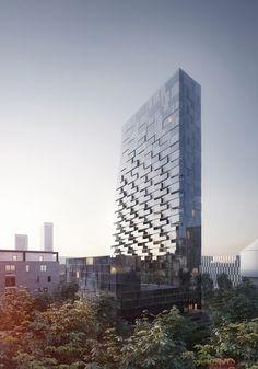 blauraum bauen Wohnturm in Frankfurt / Was ist nun Porsche Design? - Architektur und Architekten - News / Meldungen / Nachrichten - BauNetz.de