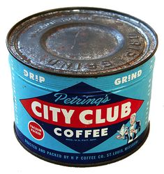 Vintage Packaging: Coffee Tins from the 40s and 50s