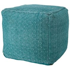 Nefiri Pouffe 45x45cm | Freedom Furniture and Homewares