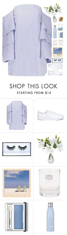 """""""but tomorrow never came"""" by loasanchez ❤ liked on Polyvore featuring Opening Ceremony, Huda Beauty, Law of Sleep, Clinique, Drybar and Mead"""