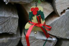Weihnachtsdeko / Stoffanhänger от BogThomHandmade на Etsy