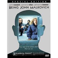 """Being John Malkovich"" Directed by Spike Jonze #film #fantasy #comedy"